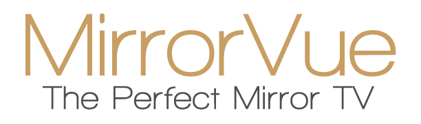 MirrorVue Mirror TV The Perfect Mirror TV Logo