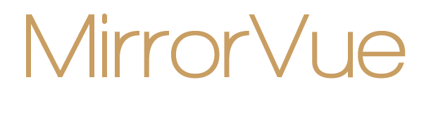 MirrorVue Mirror TV Official Logo