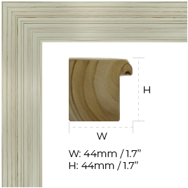 This vanishing mirror TV comes with a wide variety of frames.